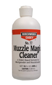Сольвент Birchwood Muzzle Magic™ No. 77 Black Powder Solvent 480мл